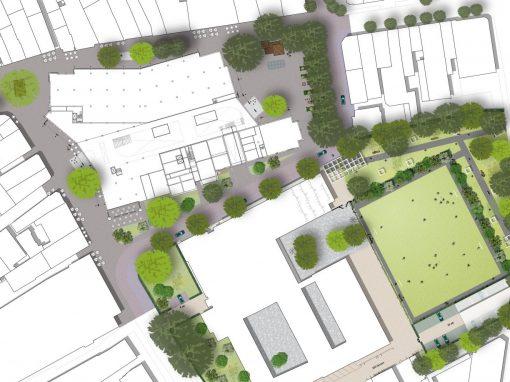 Van sportveld naar gedeeltelijk openbaar stadspark